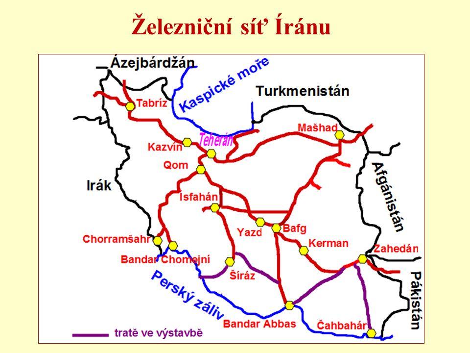 Železniční síť Íránu