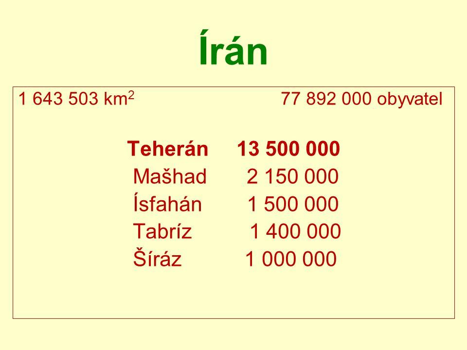 Teheránské metro první linka (příměstská 5) otevřena v r.