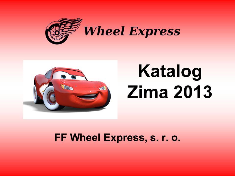 Zimní katalog FF Wheel Express, s.r. o.