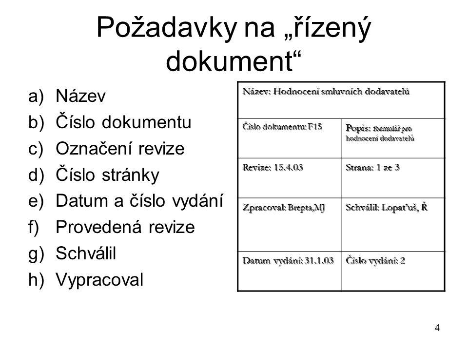 4. Diagram příčin a následků Také nazýván Ishikawův diagram nebo diagram rybí kost.