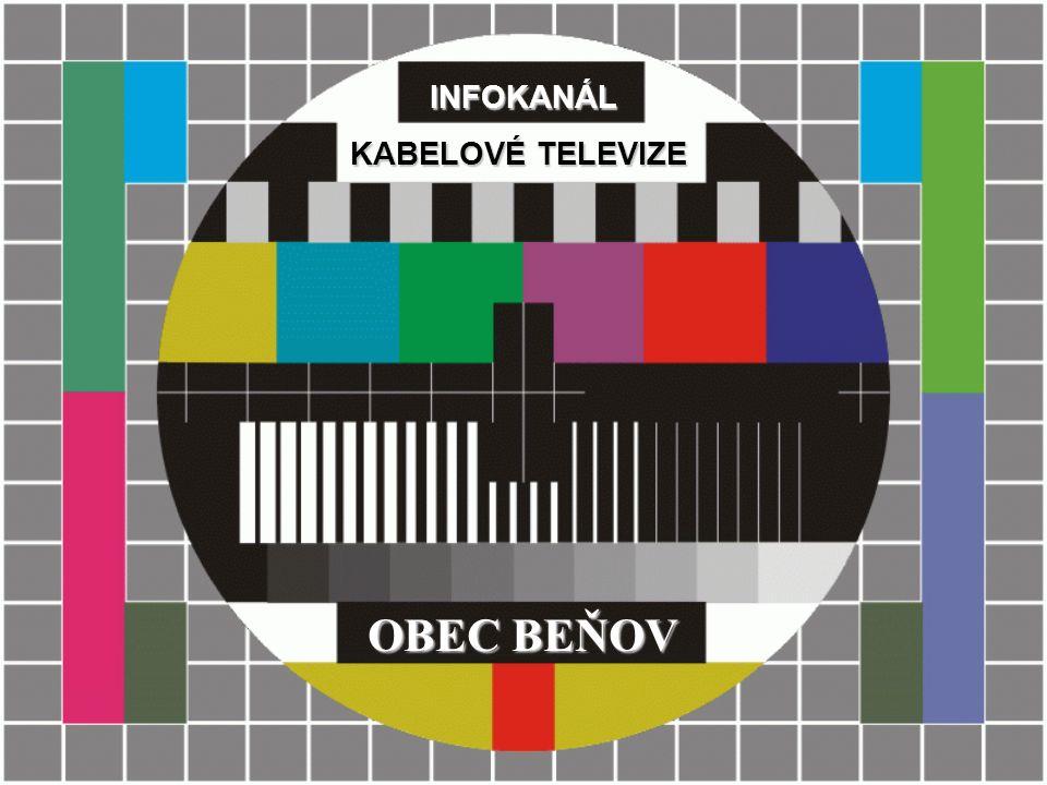 INFOKANÁL OBEC BEŇOV KABELOVÉ TELEVIZE