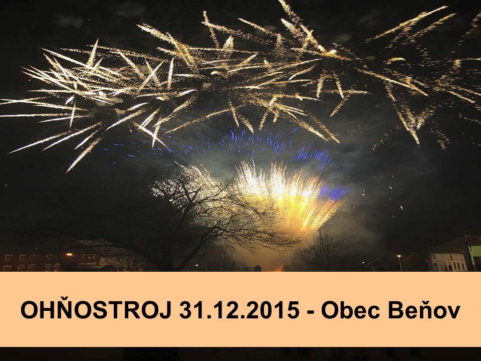 OHŇOSTROJ 31.12.2015 - Obec Beňov