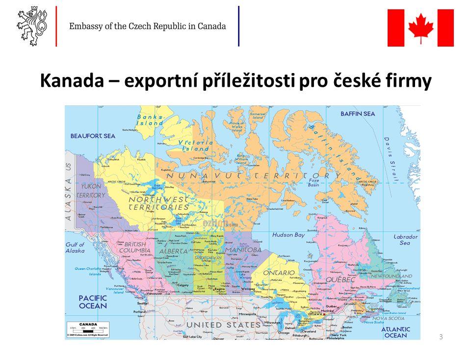 Kanada – exportní příležitosti pro české firmy 3