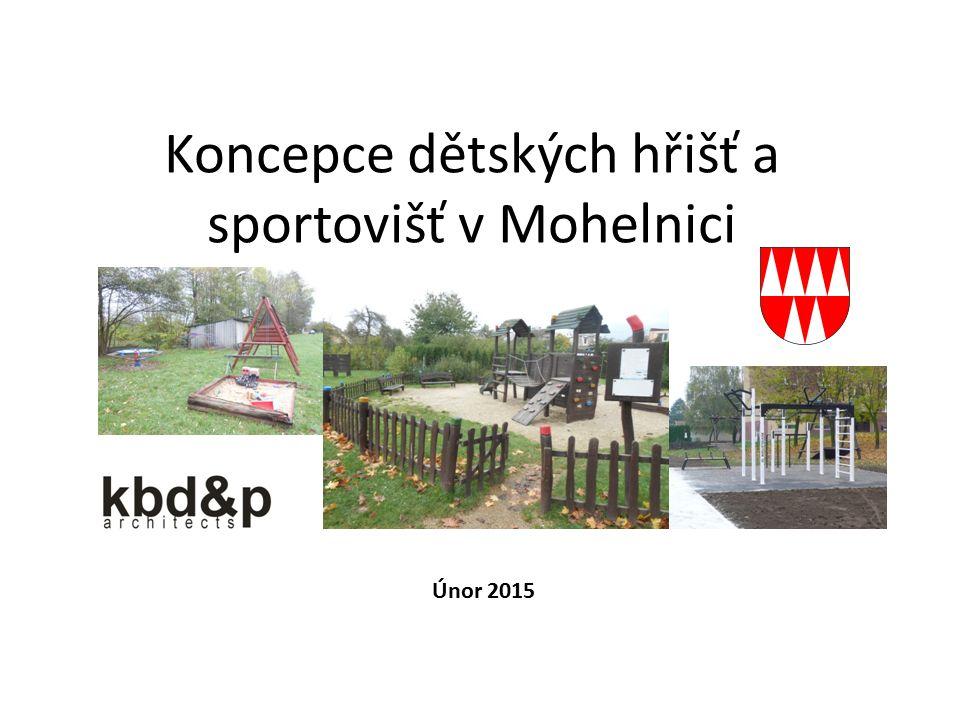 Koncepce dětských hřišť a sportovišť v Mohelnici Únor 2015
