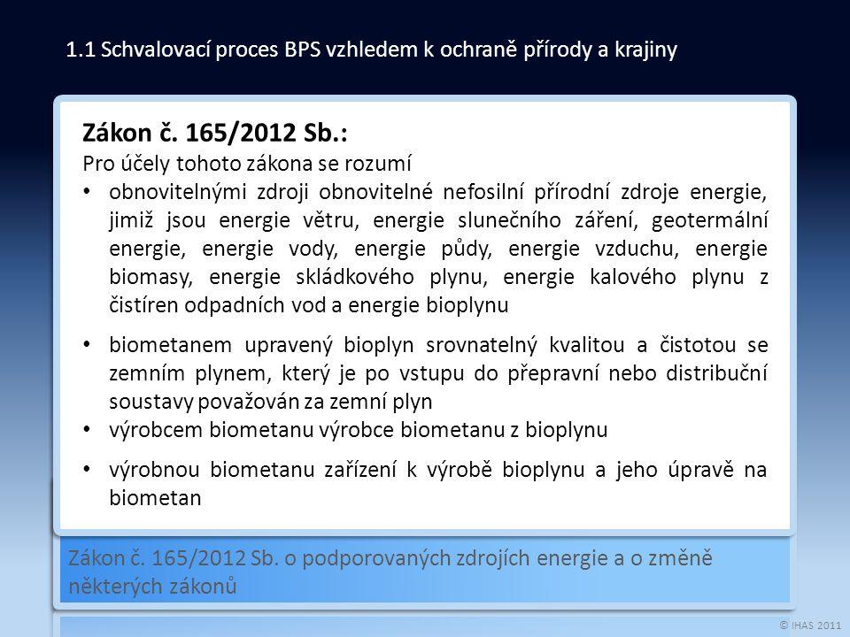 © IHAS 2011 Vyhláška č.477/2012 Sb.