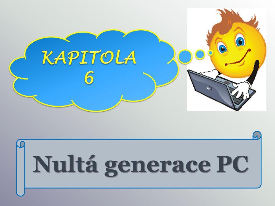 Nultá generace PC