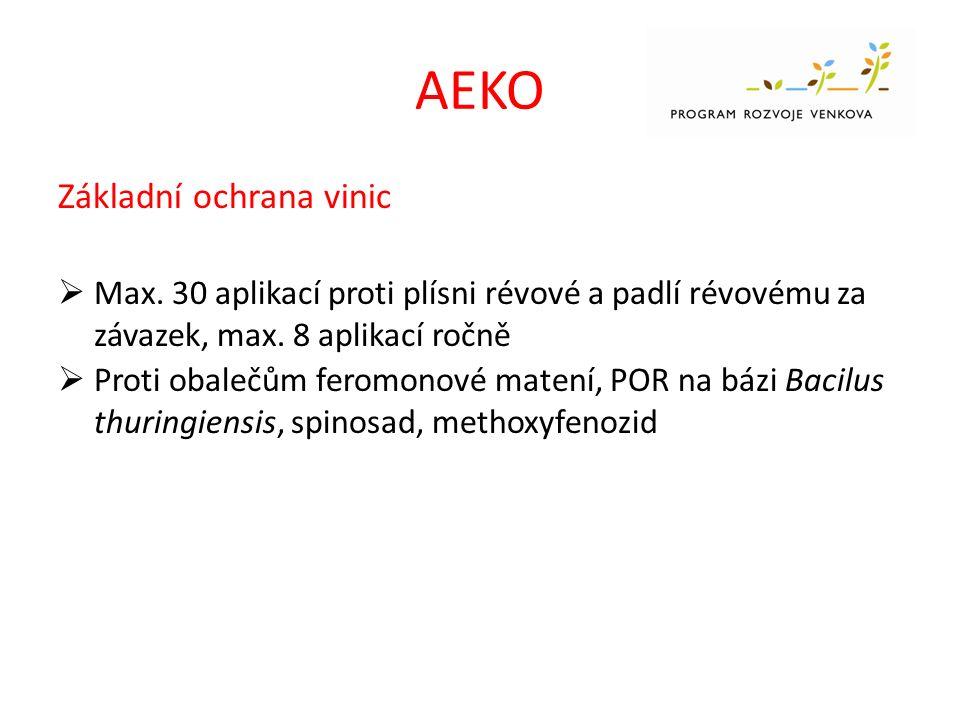 AEKO Základní ochrana vinic  Max.