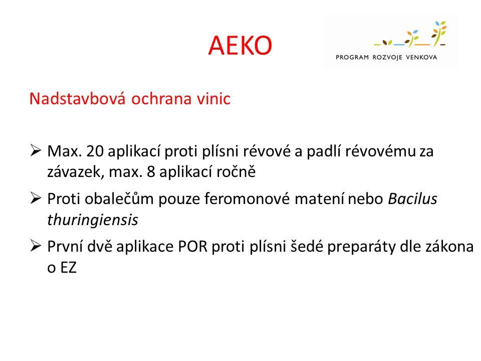 AEKO Nadstavbová ochrana vinic  Max.