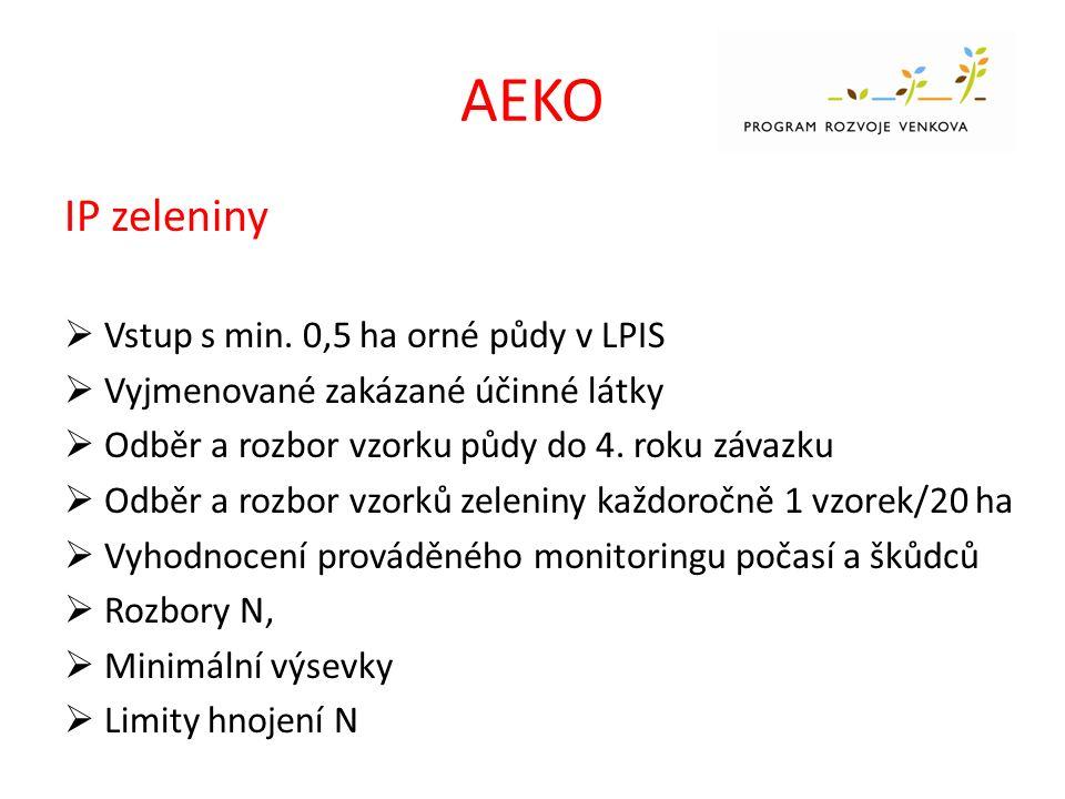 AEKO IP Révy vinné  Vstup s min.