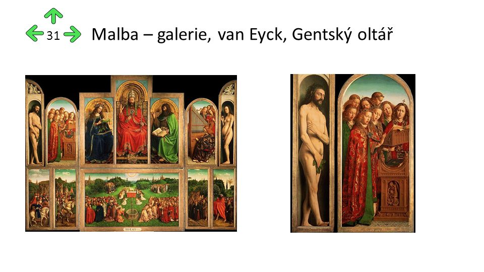 Malba – galerie, van Eyck, Gentský oltář 31