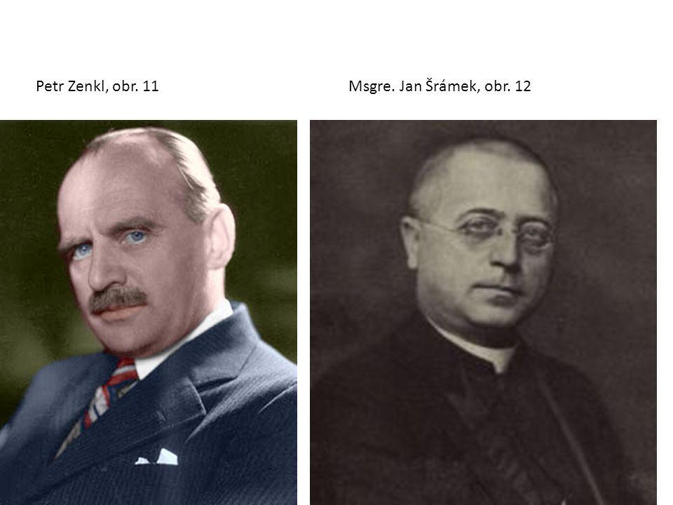 Petr Zenkl, obr. 11Msgre. Jan Šrámek, obr. 12