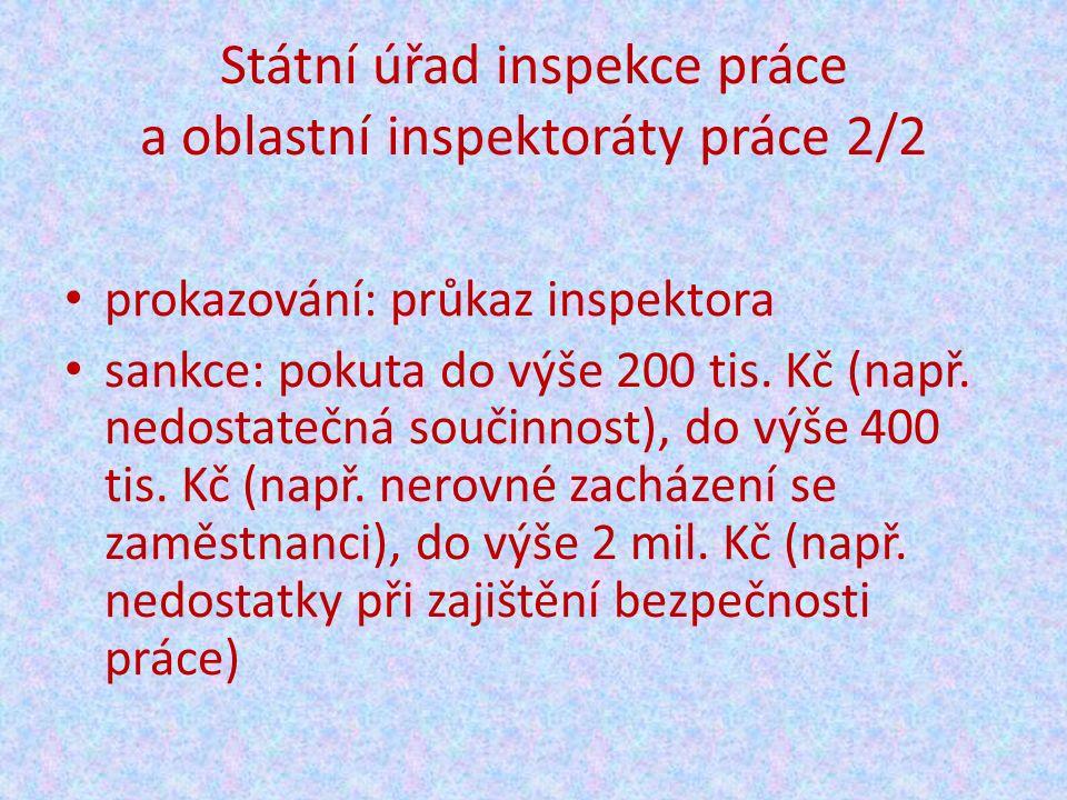 Úřady práce Zákon č.435/2004 Sb. (o zaměstnanosti, v pl.