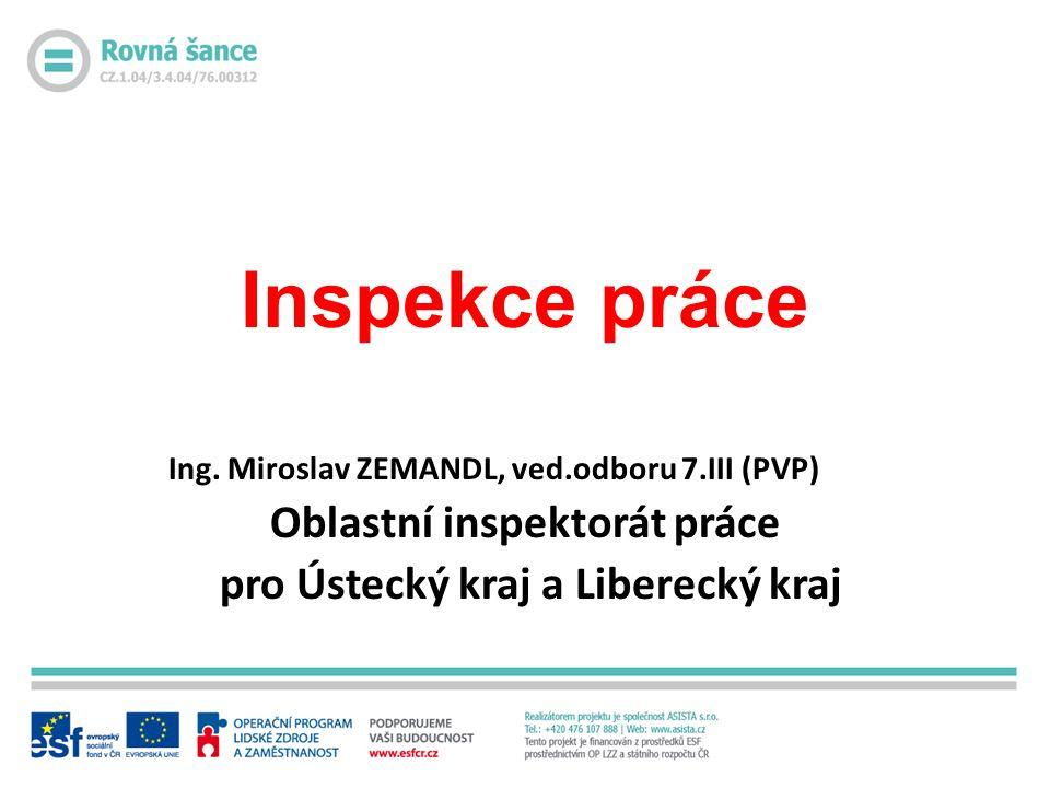 Inspekce práce Ing.
