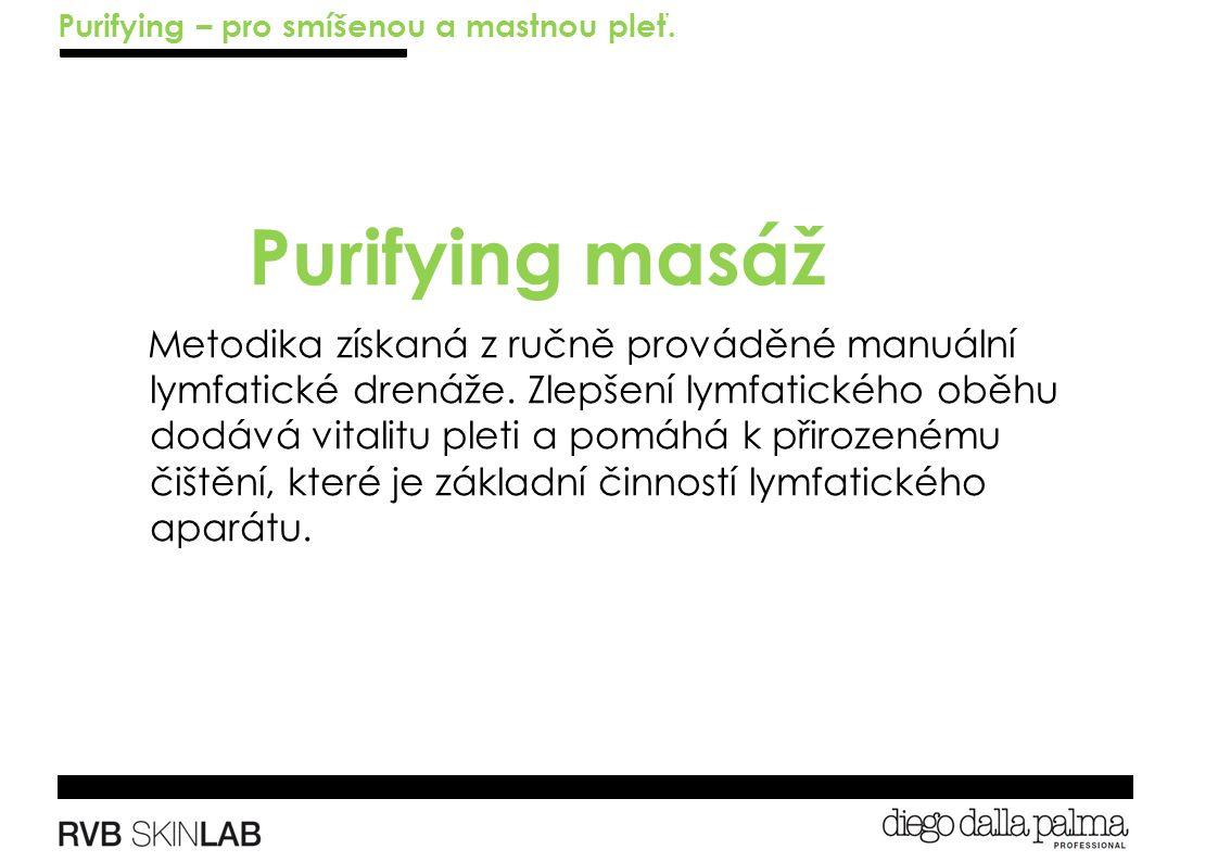 Metodika získaná z ručně prováděné manuální lymfatické drenáže.