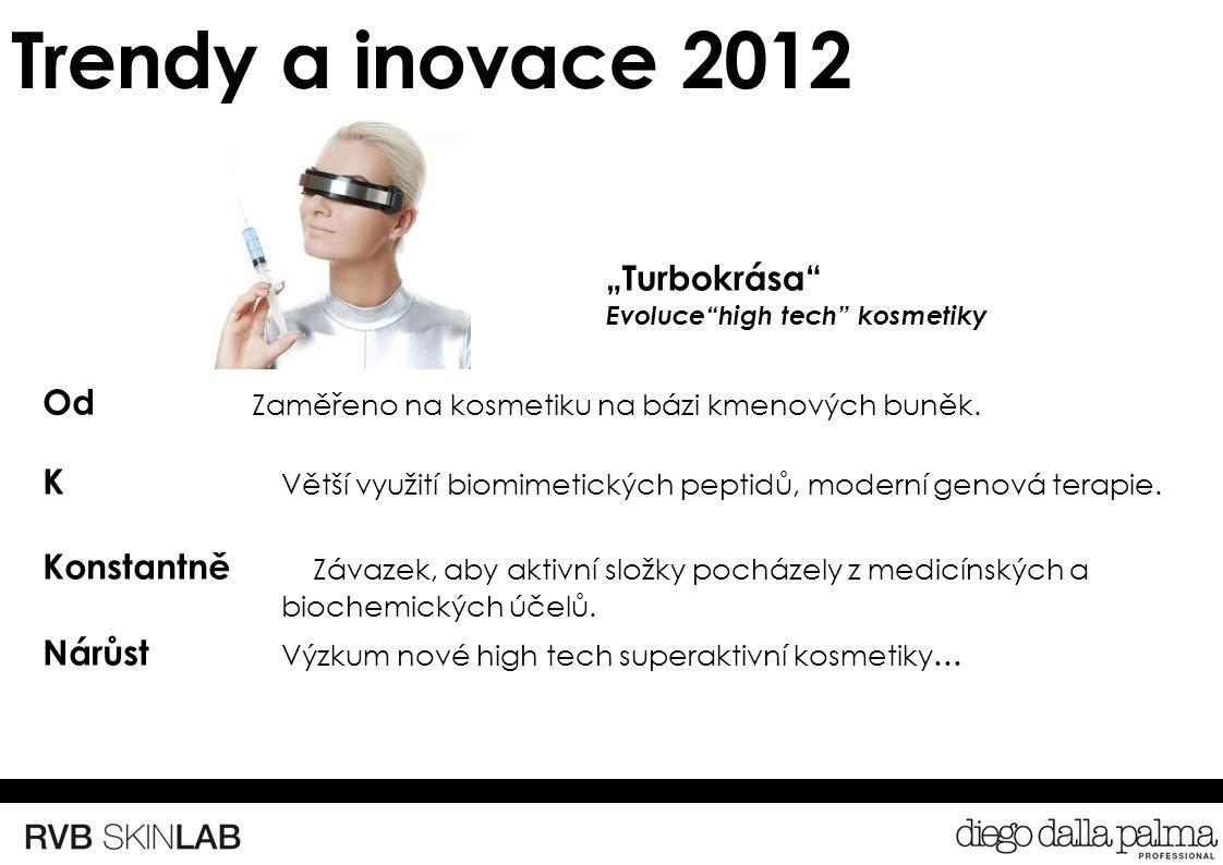 Trendy a inovace 2012 Od Zaměřeno na kosmetiku na bázi kmenových buněk.