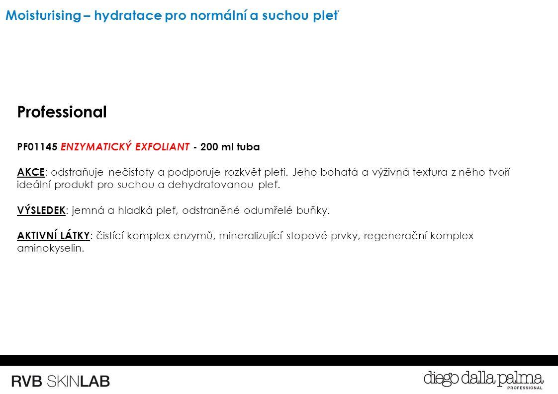 Professional PF01145 ENZYMATICKÝ EXFOLIANT - 200 ml tuba AKCE : odstraňuje nečistoty a podporuje rozkvět pleti.