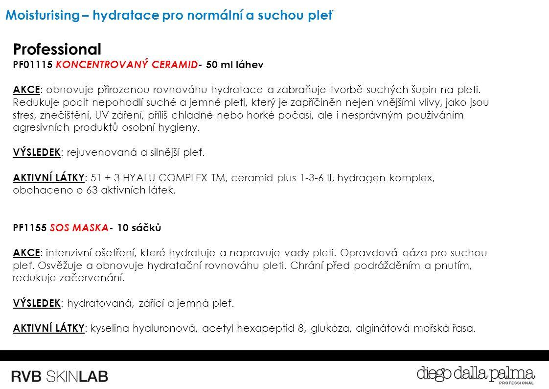 Professional PF01115 KONCENTROVANÝ CERAMID - 50 ml láhev AKCE : obnovuje přirozenou rovnováhu hydratace a zabraňuje tvorbě suchých šupin na pleti.