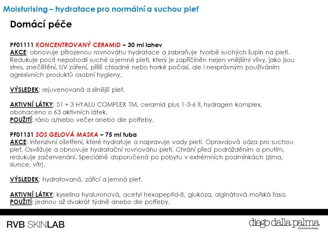 Domácí péče PF01111 KONCENTROVANÝ CERAMID – 30 ml lahev AKCE : obnovuje přirozenou rovnováhu hydratace a zabraňuje tvorbě suchých šupin na pleti.