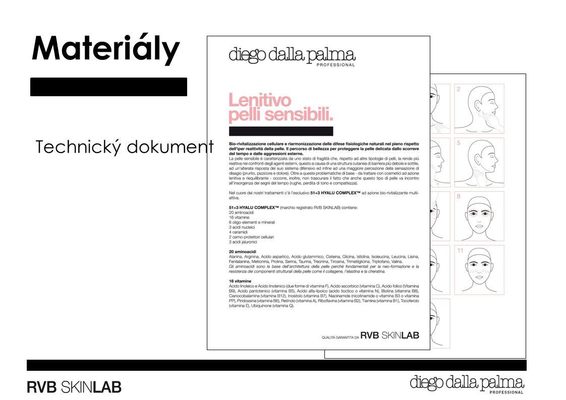 Materiály Technický dokument