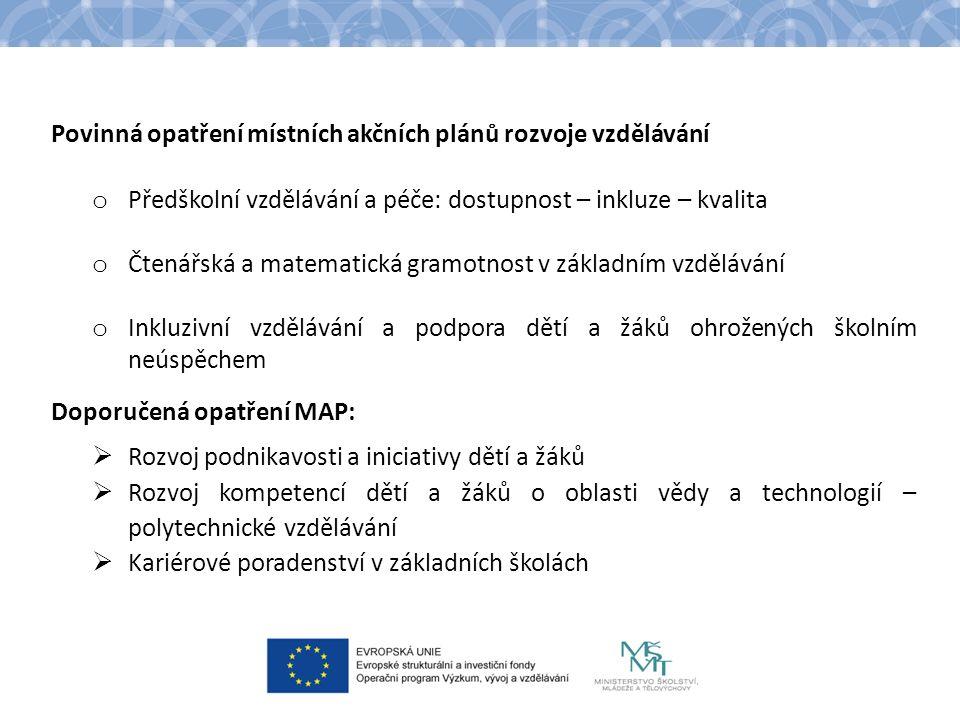 Strategický rámec MAP Účel: – Zajištění souladu projektů OP VVV, IROP a OP PPR s prioritami regionu – Poskytnutí přehledu priorit dle Dohody o prioritách Struktura: – 1.