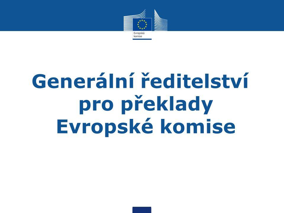 Generální ředitelství pro překlady Evropské komise