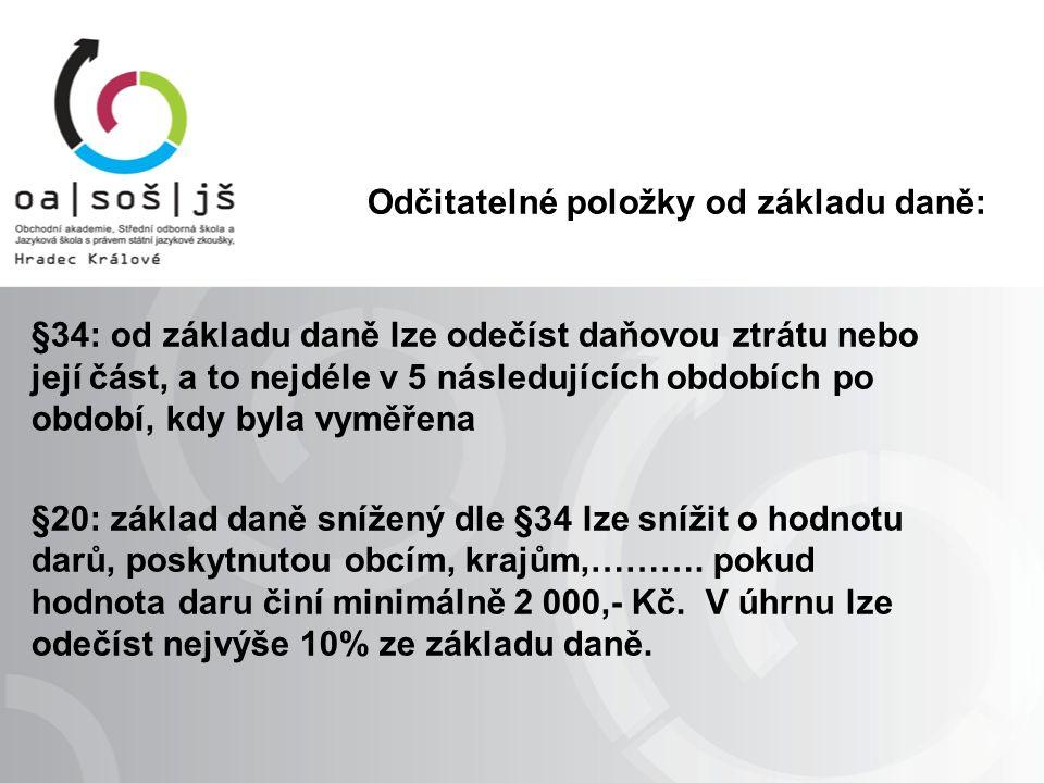 Příklady výpočtu: Dne 1.března 2013 došlo k havárii firemního automobilu, viz.
