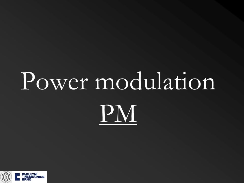 Power modulation PM