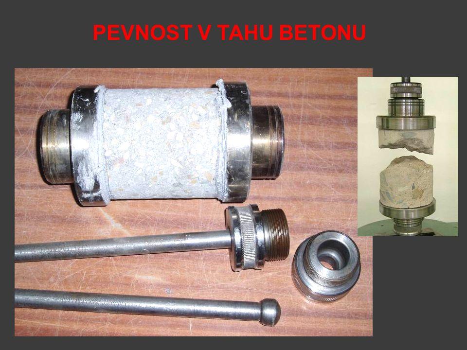 PEVNOST V TAHU BETONU