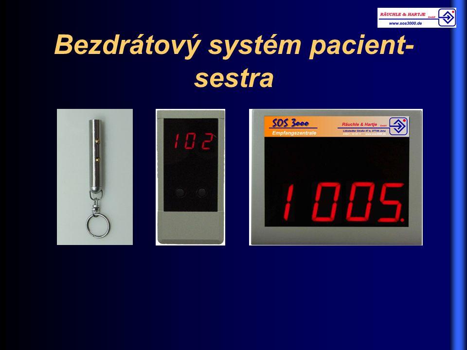 Bezdrátový systém pacient- sestra