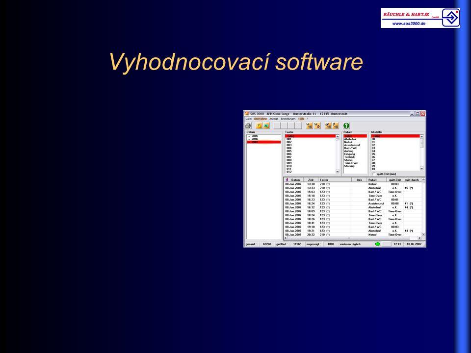 Vyhodnocovací software
