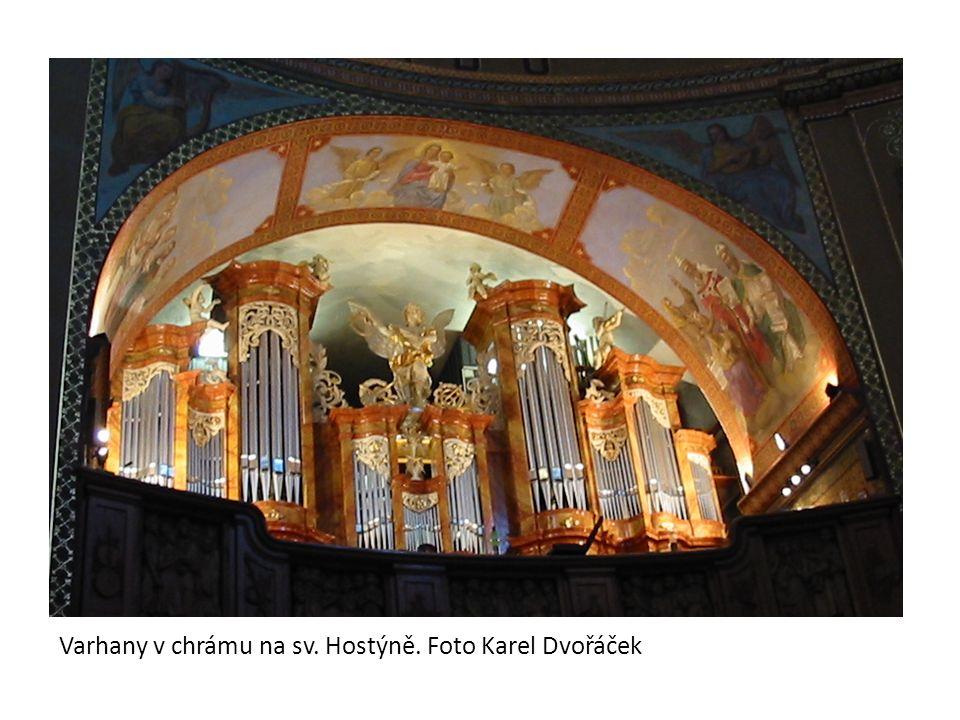 Varhany v chrámu na sv. Hostýně. Foto Karel Dvořáček