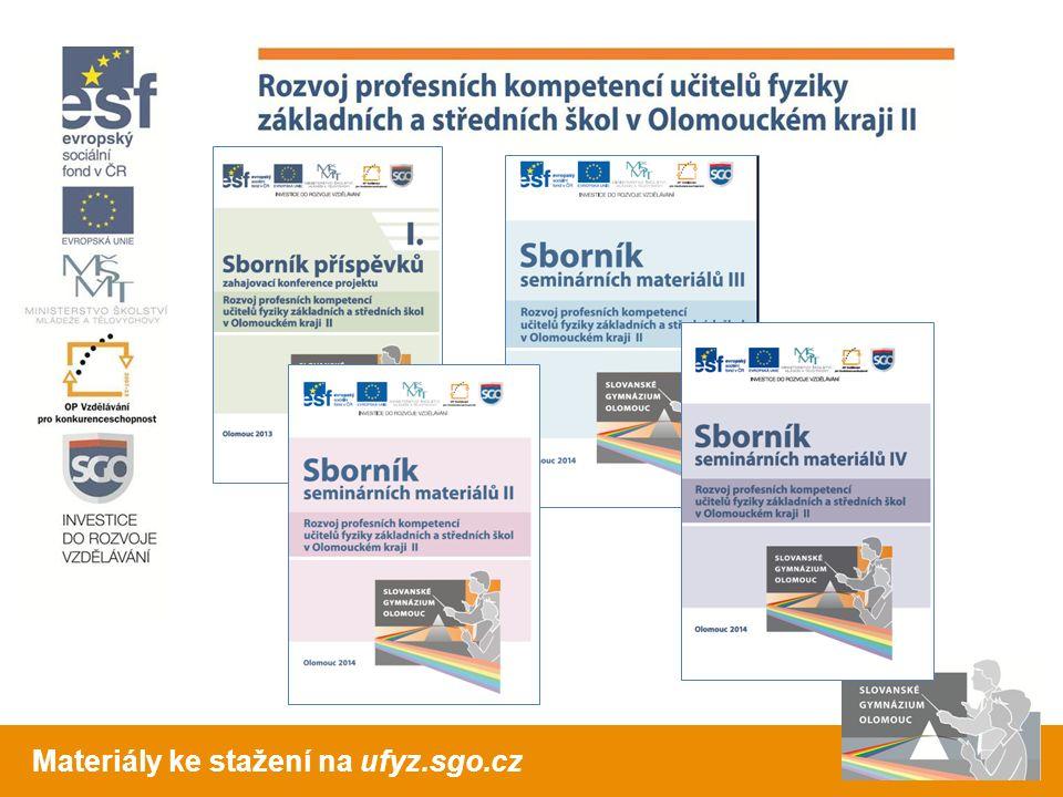Materiály ke stažení na ufyz.sgo.cz