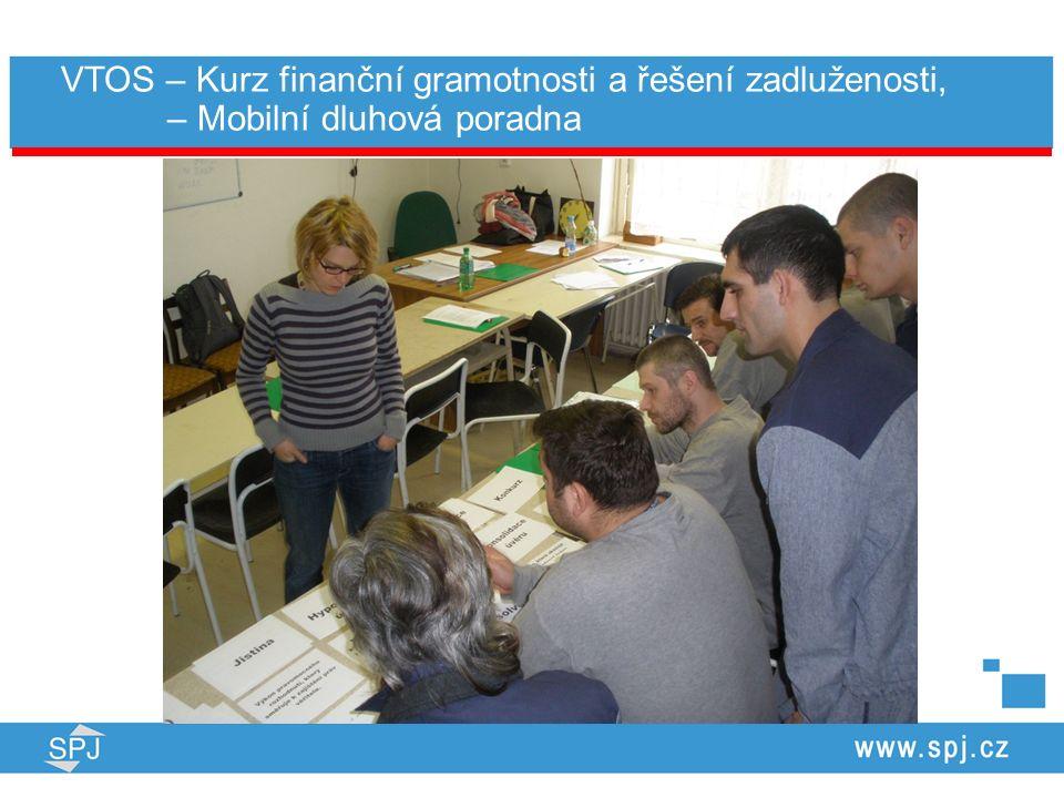 VTOS – Kurz finanční gramotnosti a řešení zadluženosti, – Mobilní dluhová poradna