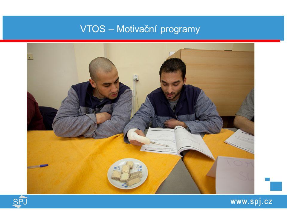 Přehled aktivit realizovaných SPJ ve VTOS v r.