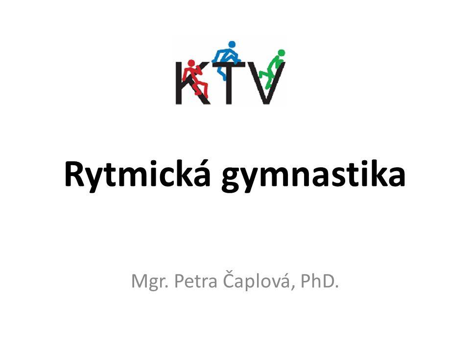 Rytmická gymnastika Mgr. Petra Čaplová, PhD.