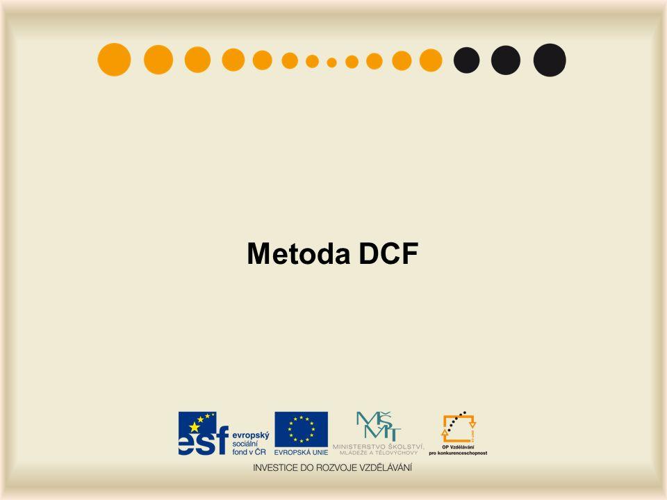 Metoda DCF