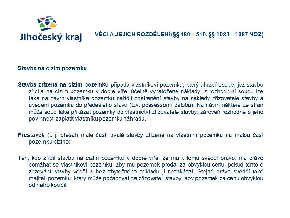 Promítnutí NOZ do stavebního řízení a řízení o vyvlastnění § 3029 odst.
