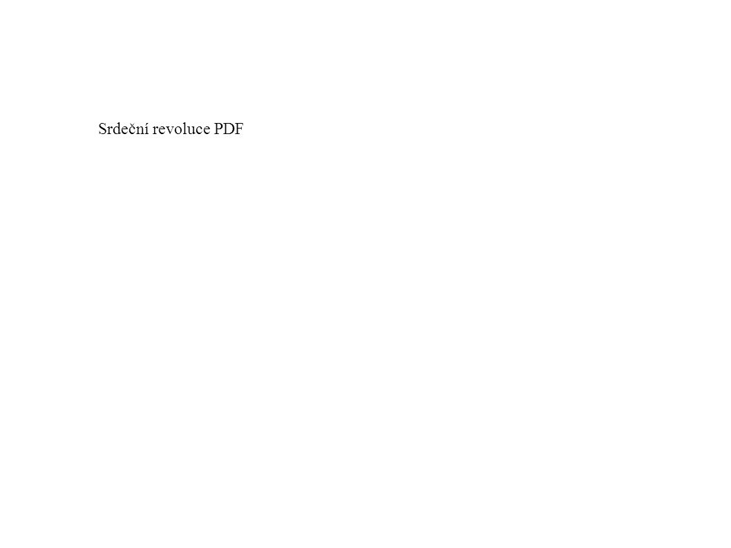 Srdeční revoluce PDF