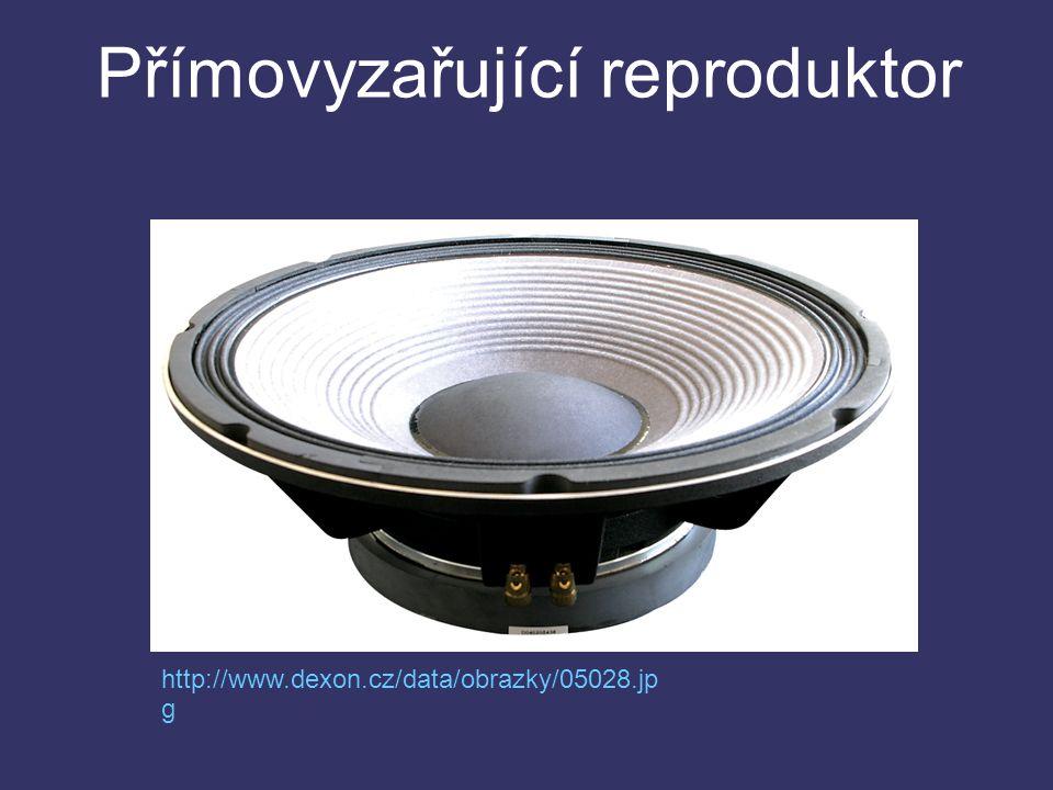 Přímovyzařující reproduktor http://www.dexon.cz/data/obrazky/05028.jp g