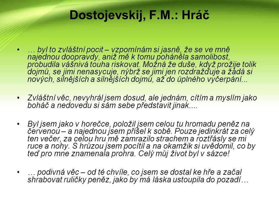 Poděkování Děkuji vedoucímu práce Mgr.Miroslavu Charvátovi, Ph.D.