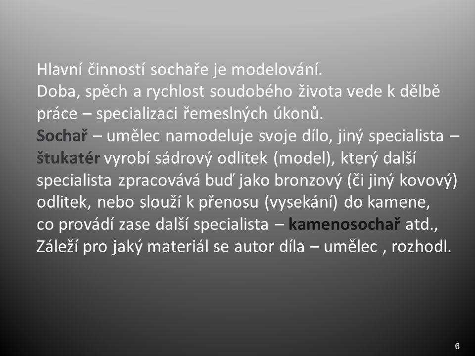 7 Modelovací hlína (Sv. Josef ) Velký Ořechov Pavel Gabrhel