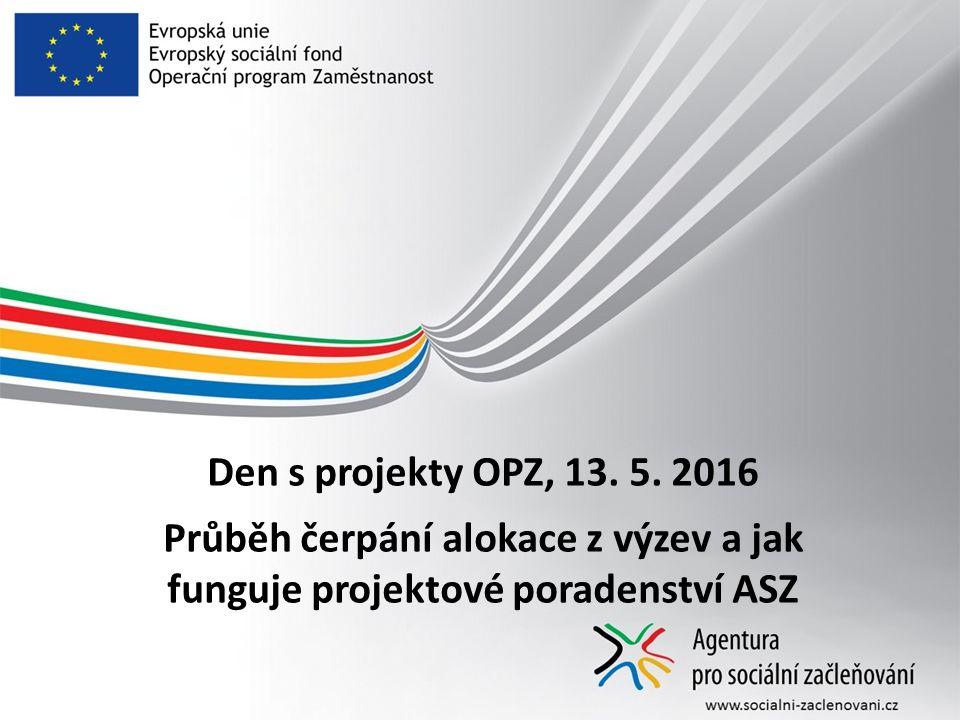 Den s projekty OPZ, 13. 5.