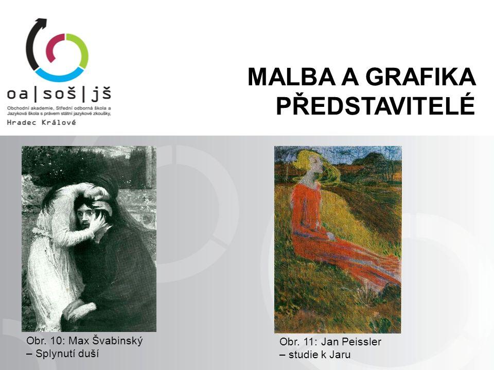 Obr. 10: Max Švabinský – Splynutí duší Obr.