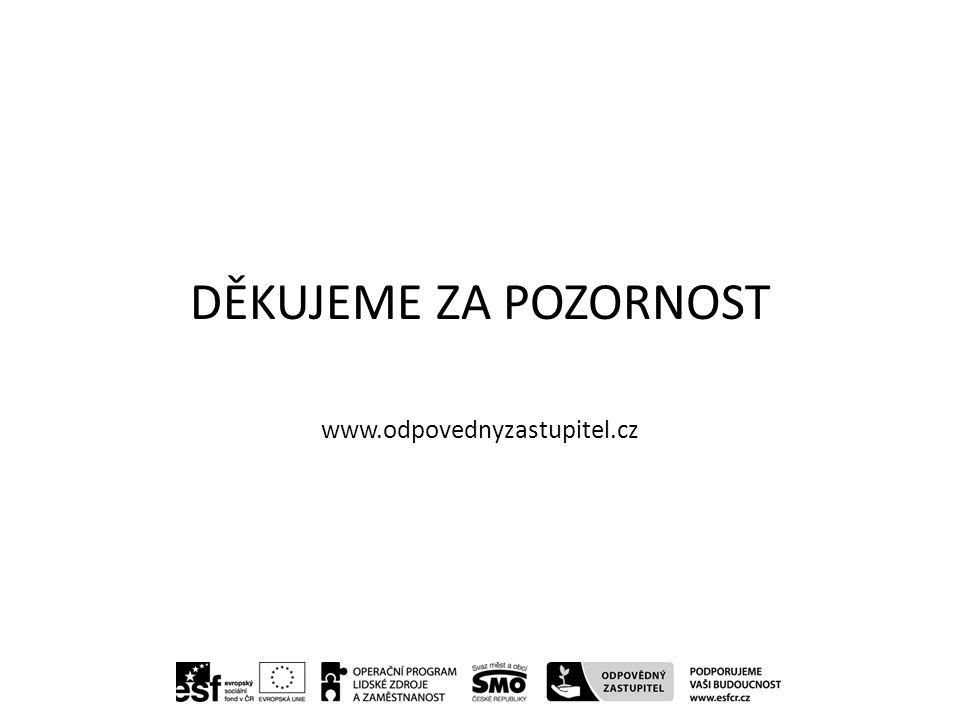 DĚKUJEME ZA POZORNOST www.odpovednyzastupitel.cz