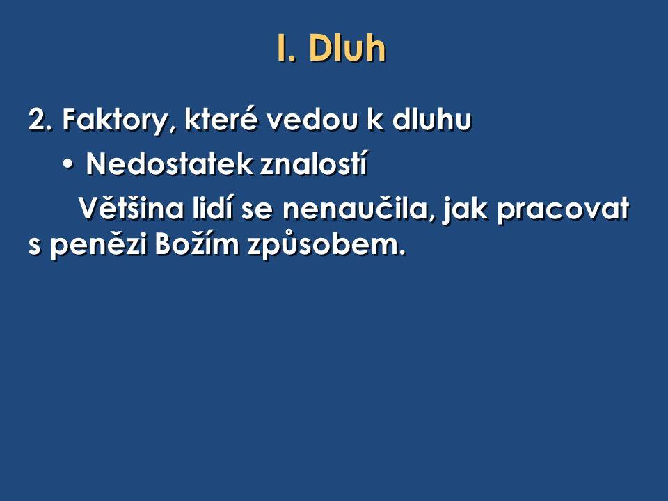 I. Dluh 2.