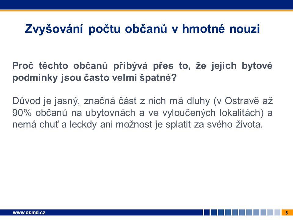9 www.osmd.cz Bezplatné ubytování = řešení problému?.