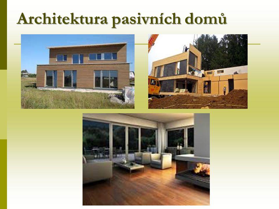 Architektura pasivních domů
