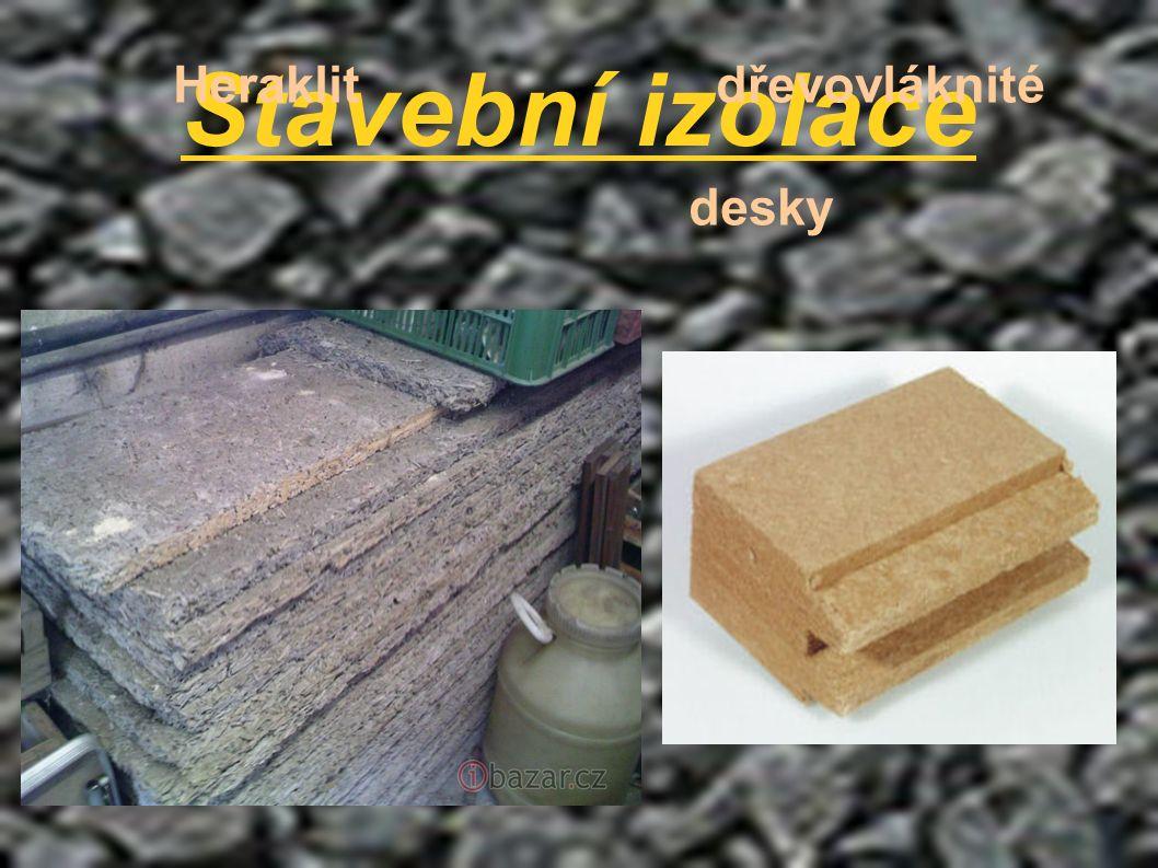 Stavební izolace Heraklit dřevovláknité desky