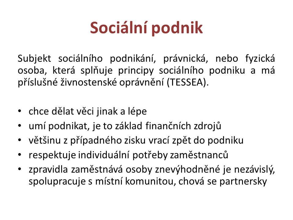 Sociální podniky v Olomouckém kraji A a D Klásek spol.