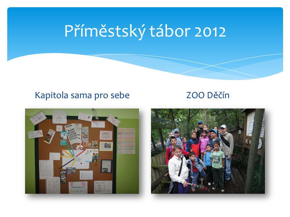 Příměstský tábor 2012 Kapitola sama pro sebeZOO Děčín